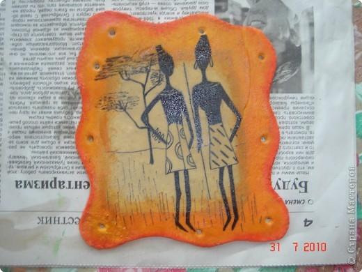 Очень понравились картины(пано) Glorikana.Решила повторить,к сожалению салфеток таких не нашла,поэтому рисовала. фото 2