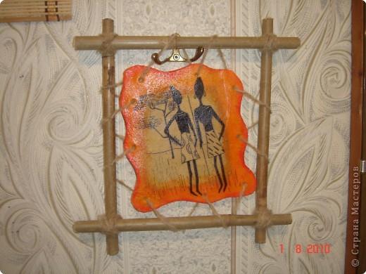 Очень понравились картины(пано) Glorikana.Решила повторить,к сожалению салфеток таких не нашла,поэтому рисовала. фото 4