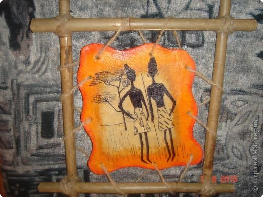 Очень понравились картины(пано) Glorikana.Решила повторить,к сожалению салфеток таких не нашла,поэтому рисовала. фото 1