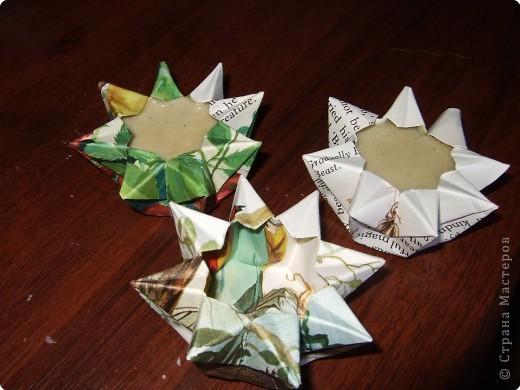 Я думаю, всем надоедают обычные и банальные формы мыла.. У некоторых они не такие уже и обычные, но всегда заливать массу в одно и тоже - скучно.. Я решила поэкпериментировать..)* Те, кто хорошо вник в искусство оригами смогут сделать много сверх необычного ^^ думаю, вас заинтересует;)) фото 2