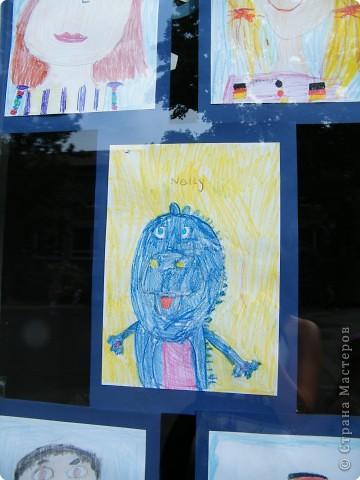 Автопортреты нашего 1 А.   Евангелия и моя дочка Виктория. фото 2