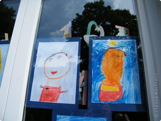 Автопортреты нашего 1 А.   Евангелия и моя дочка Виктория. фото 6