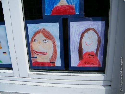 Автопортреты нашего 1 А.   Евангелия и моя дочка Виктория. фото 8