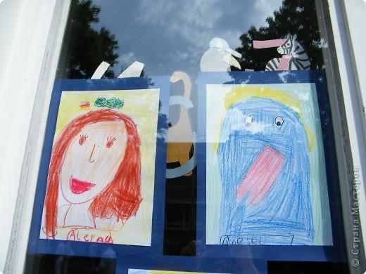 Автопортреты нашего 1 А.   Евангелия и моя дочка Виктория. фото 11