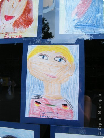 Автопортреты нашего 1 А.   Евангелия и моя дочка Виктория. фото 12
