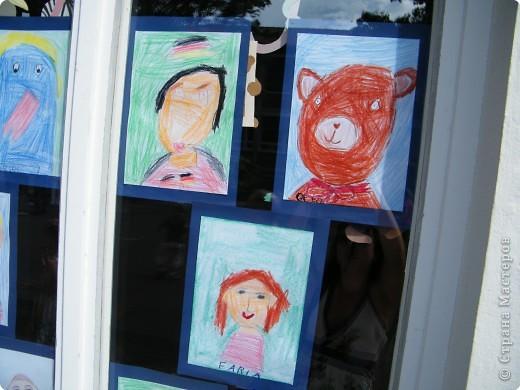 Автопортреты нашего 1 А.   Евангелия и моя дочка Виктория. фото 15