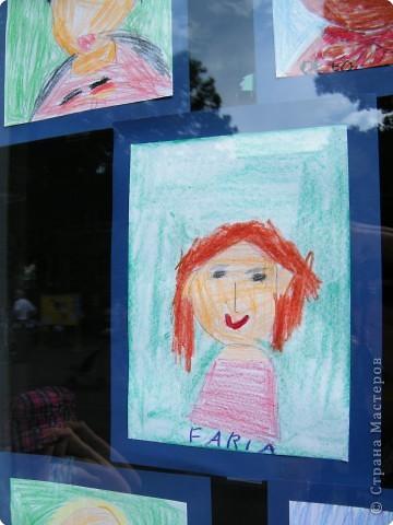 Автопортреты нашего 1 А.   Евангелия и моя дочка Виктория. фото 16