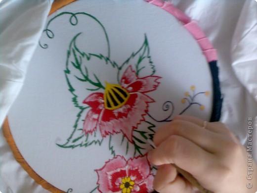 Как сделать краски по ткани своими руками мастер класс