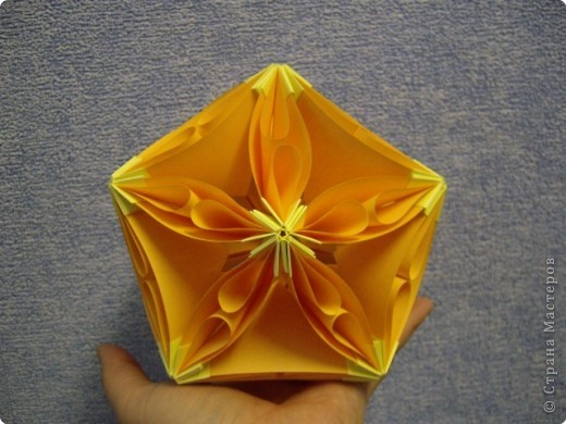 Кусудама Мастер-класс Оригами