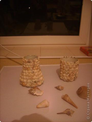 вазочки из ракушек