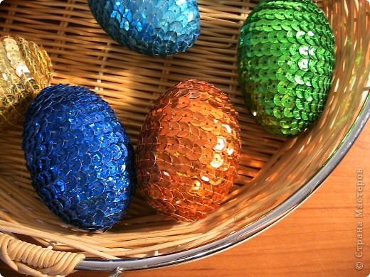Пасха Бисероплетение Яйца из бисера Дерево фото 4.