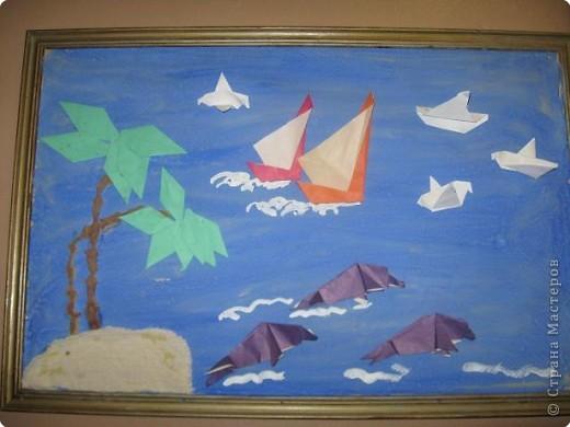 Оригами: Работы в детском саду фото 1
