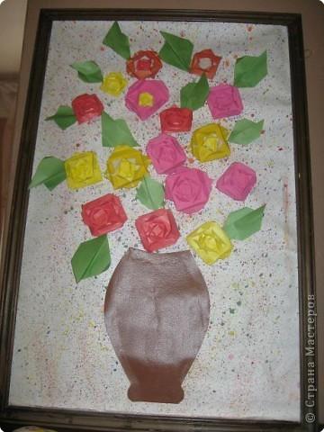 Оригами: Работы в детском саду фото 2