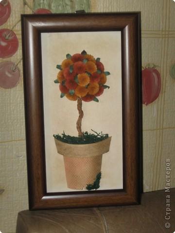 Квиллинг: Деревце счастья