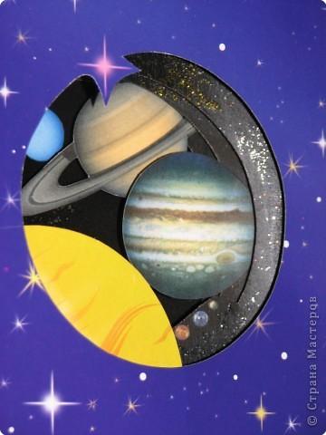 Бумажный туннель: Планеты Солнечной системы фото 2