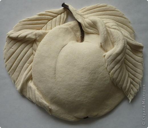 Мастер-класс Лепка МК роспись яблока Тесто соленое фото 2