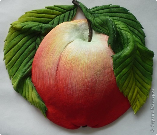 """""""А вот и Я!!!"""" Очень много яблок с червячком делала - мило... Людям нравится, тоже """"фишка"""".  фото 13"""