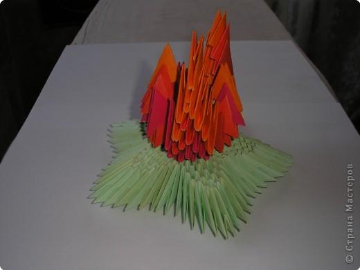 Огонь модульное оригами схема - Пальто, курточки Ниткой - вязаные вещи для вашего дома