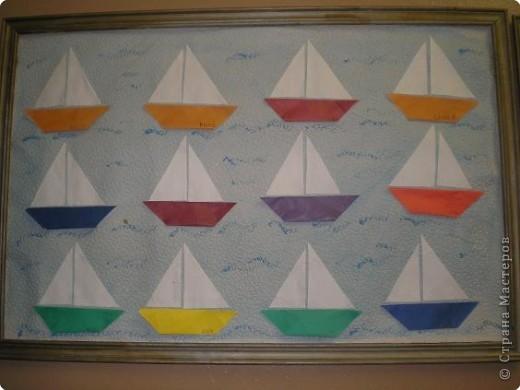 Оригами: Работы в детском саду фото 6