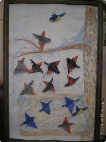 Оригами: Работы в детском саду фото 8