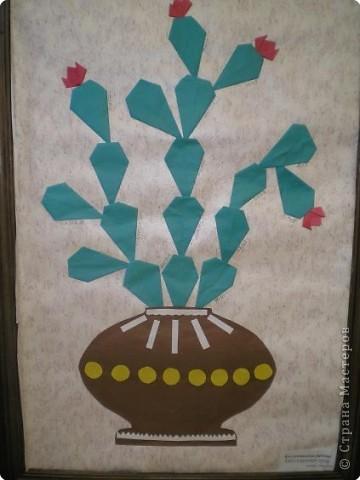 Оригами: Работы в детском саду фото 15