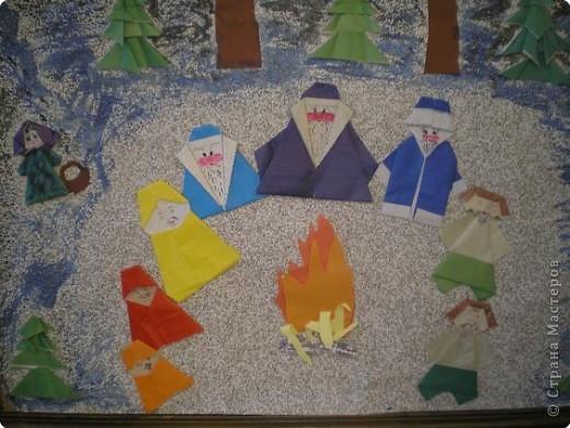 Оригами: Работы в детском саду фото 18