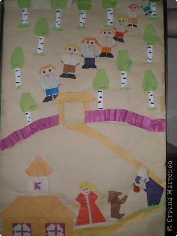 Оригами: Работы в детском саду фото 23