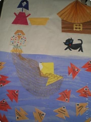Оригами: Работы в детском саду фото 28