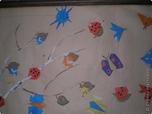 Оригами: Работы в детском саду фото 30