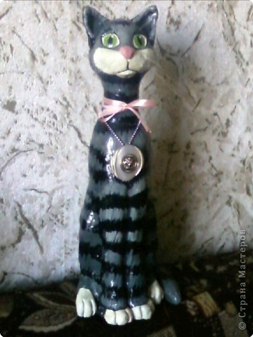 Лепка: Кошечка Муся.