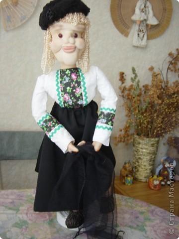 Выношу на Ваш суд свою новую куклу Сделана она по МК Ликмы -Старая учительница фото 1