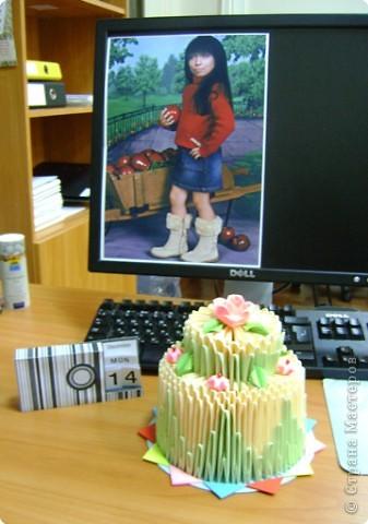 Тортик, календарик и фото :)))