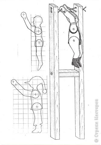 Игрушка из дерева своими руками схемы