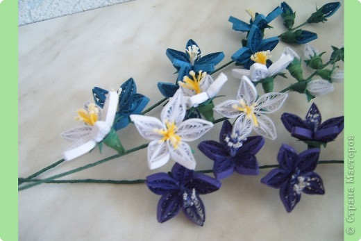 Квиллинг букеты цветов картинки 3