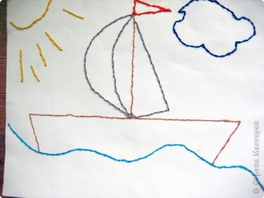 Ветер в паруса! Кораблик Полины. фото 1