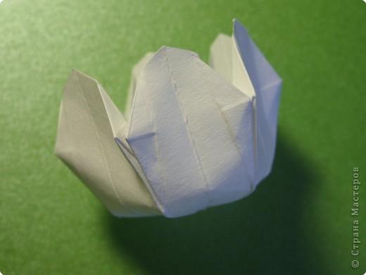 Мастер-класс Оригами Ландыши МК Бумага фото 18