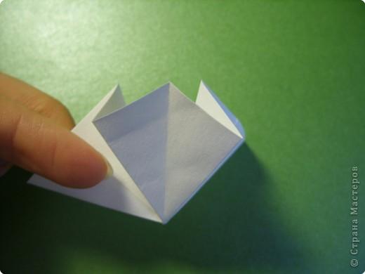 Мастер-класс Оригами Ландыши МК Бумага фото 5