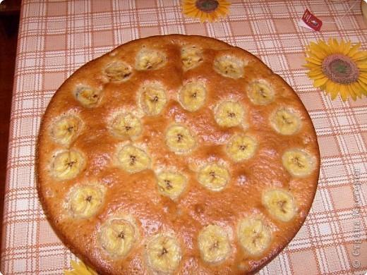 Пирог с бананами. фото 1