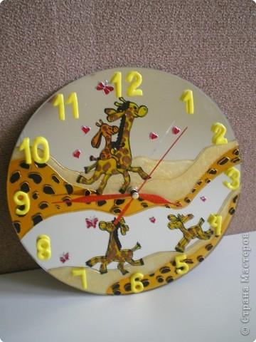 """Часы """"жирафы"""""""