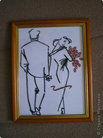 Картина панно рисунок Витраж