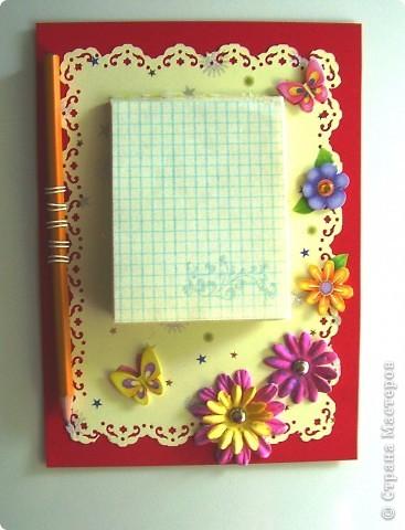 Как сделать блокнот для записей своими руками