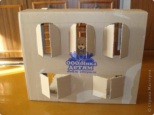 Как сделать домик из коробки инструкция