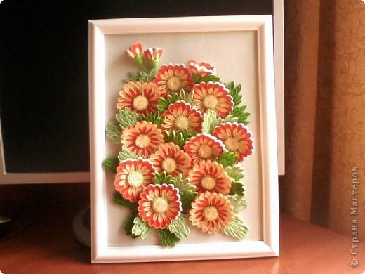 Спасибо N@tali за МК, теперь и у меня есть такие красивые цветочки.
