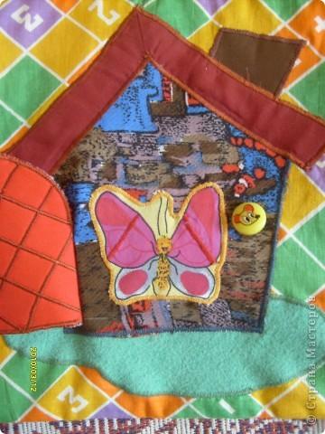 Вот такой вот коврик я сделала в для своей козявочки. фото 2