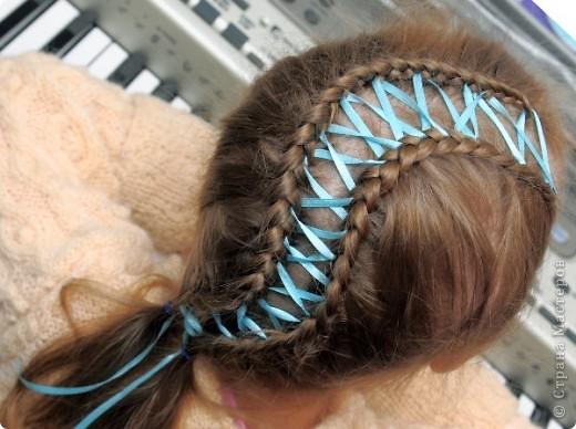 Прическа Плетение Прически для дочки Волосы