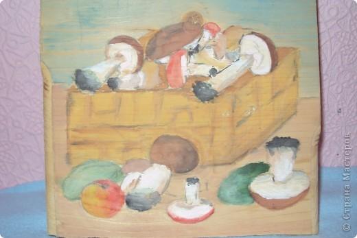 корзина с грибочками фото 1