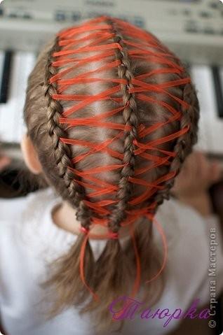 Прическа Плетение Прически для дочки -2 Волосы