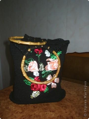 Вот моя вторая сумочка...