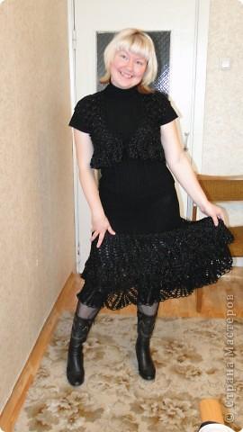 Вот и себе наконец окончила костюмчик на осень:юбка и болеро. в живую юбка очень прекрасно играет,на фото не видно