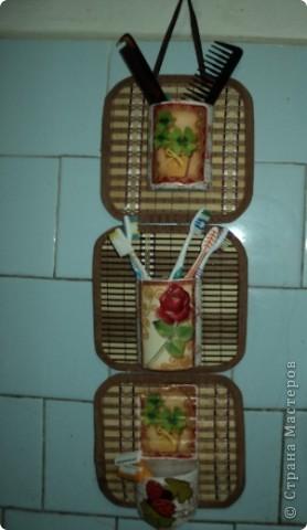 Поделки из бамбуковой салфетки своими руками